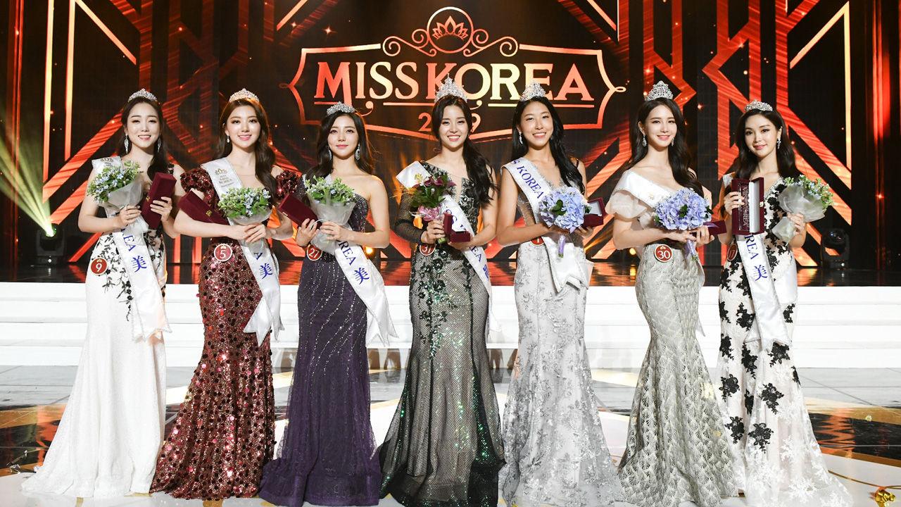 罕见 7名韩国小姐集体拒绝赴日本参赛(图)|抵制日货