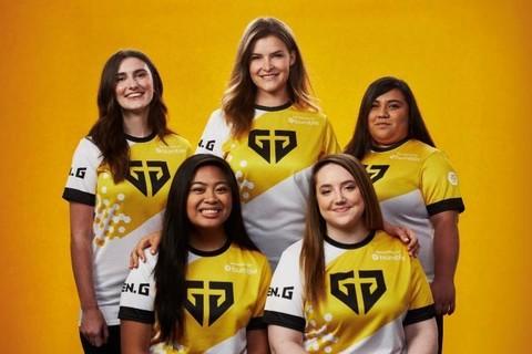 社交应用Bumble与电竞俱乐部Gen.G组建首支全女子战队