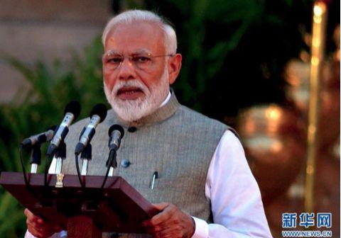 ▲印度总理莫迪 (图源:新华社)