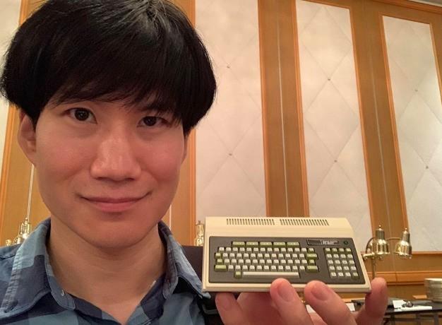 40年前日本首台PC-8001台式电脑 迷你复刻版曝光
