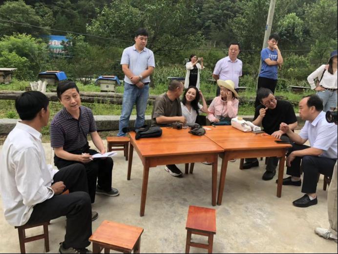 中国互联网发展基金会赴佛坪调研
