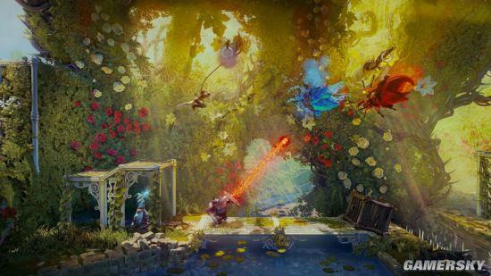 """《三位一体4:梦魇王子》10月8日发售 """"友尽""""合作模式超欢乐_电视游戏-新闻_中国印刷行业新闻网游戏_中国印刷行业新闻网网"""