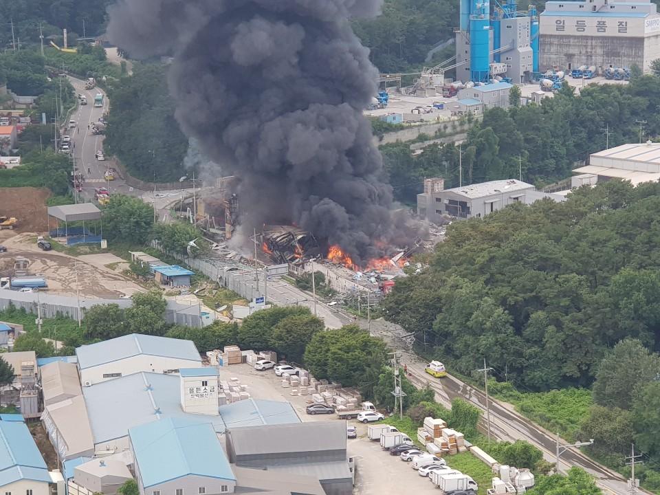 我被自动阅读赚钱骗了_韩国京畿道一纸箱厂发生大爆炸 致1死10伤