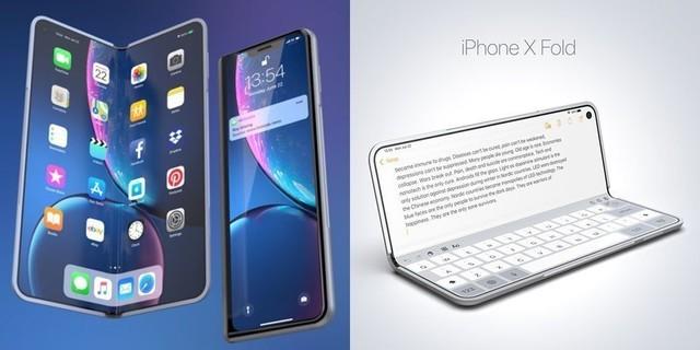 苹果欲发布可折叠款新品 命名iPhone X Fold