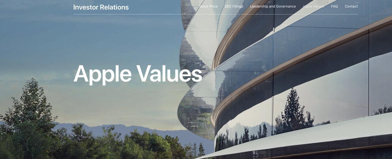 企业价值观占有垄断地位?让苹果走向成功的真不只是设计