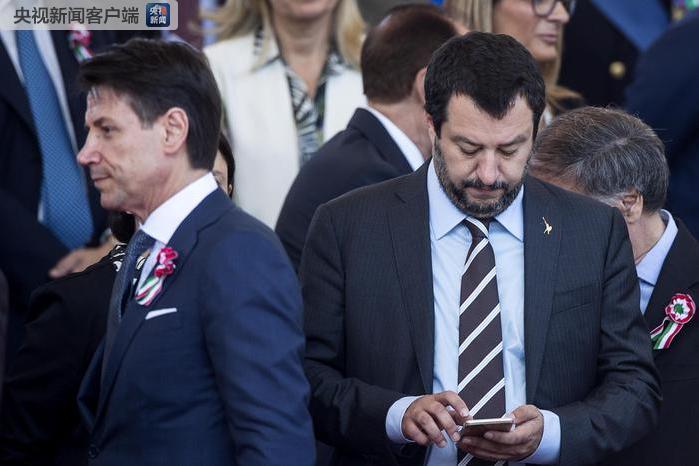 意大利政府现危机 执政联盟关系破裂|孔特|大选