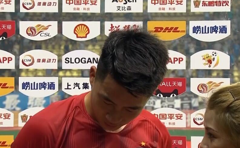 胡靖航谈进球:没带来胜利,就什么都不是