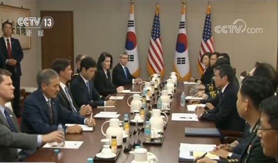 <b>韩防长:日对韩的经济报复措施威胁韩美日安保合|安保|韩日军事情报保护协定</b>