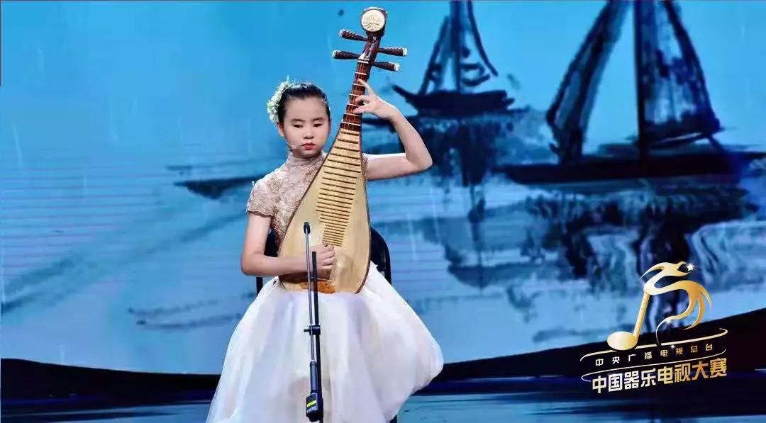 13岁失明女孩却将琵琶弹进中国器乐电视大赛决赛|中国器乐电视大赛