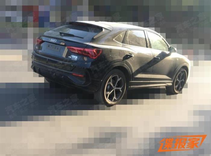 溜背式轿跑SUV 曝国产奥迪Q3 Sportback