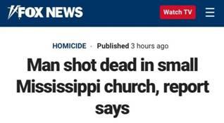 美国密西西比州发生枪击事件 致1人死亡