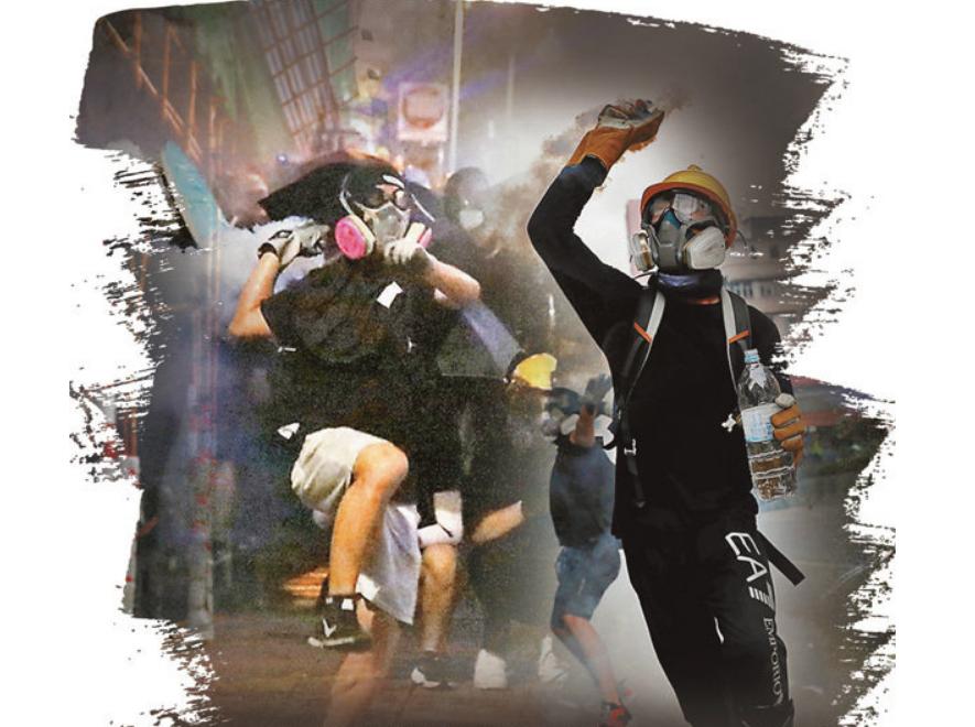 "<b>香港激进分子叫嚣""警察子女也要受株连"" 遭怒斥|暴力</b>"