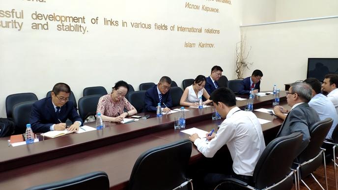 国务院参事室代表团访问乌兹别克斯坦和塔吉克斯坦