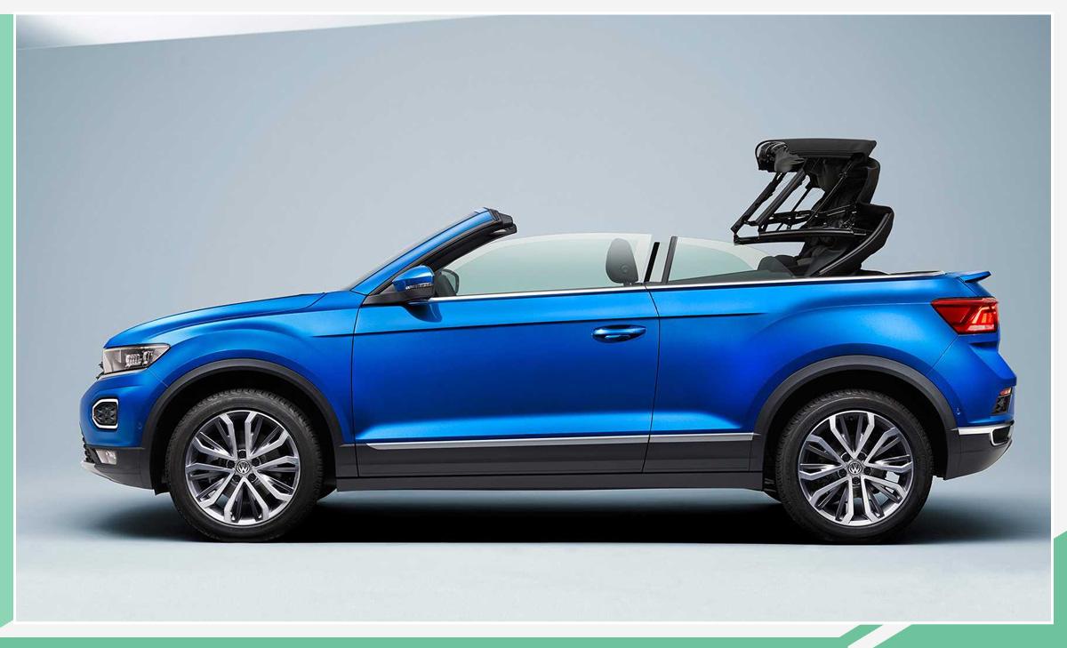 大众T-Roc敞篷版法兰克福车展亮相 将于明年上市