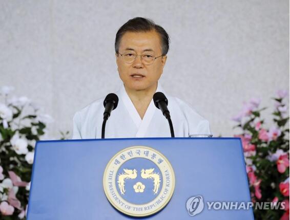 文在寅:如果日本愿意对话与合作 韩国愿意携手|文在寅
