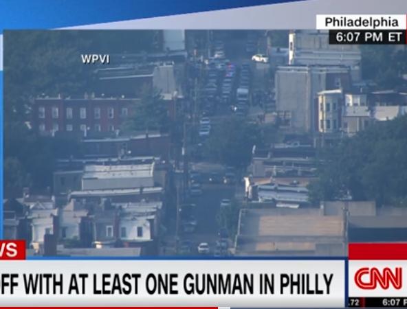 费城枪案:警方与嫌犯通话 两名警察被秘密救出|嫌犯