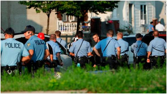 美国费城枪击事件最新进展:枪手被捕