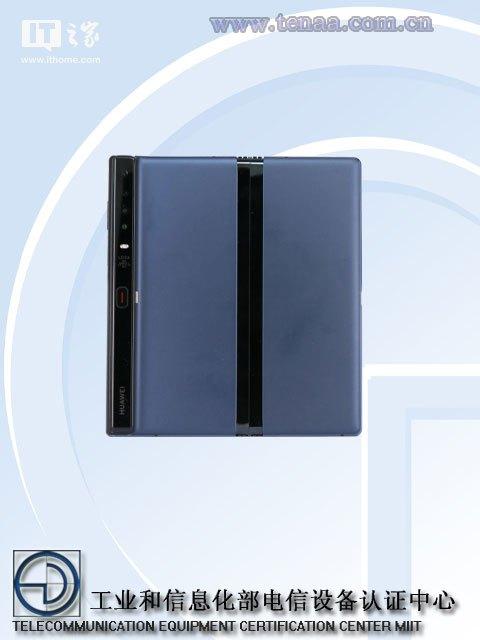 华为Mate X折叠屏手机证件照出炉
