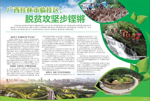 广西桂林市临桂区:脱贫攻坚步铿锵