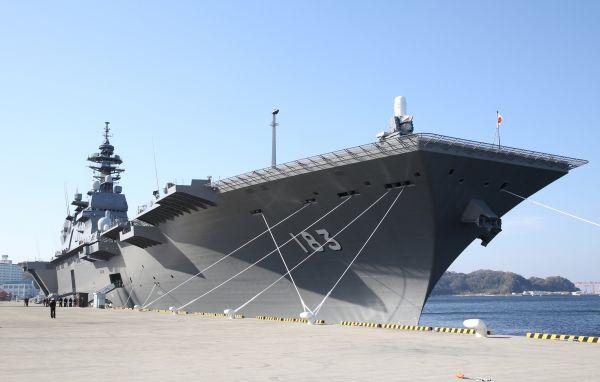 "35B战机 ""出云""级航母化迈出关键步伐"