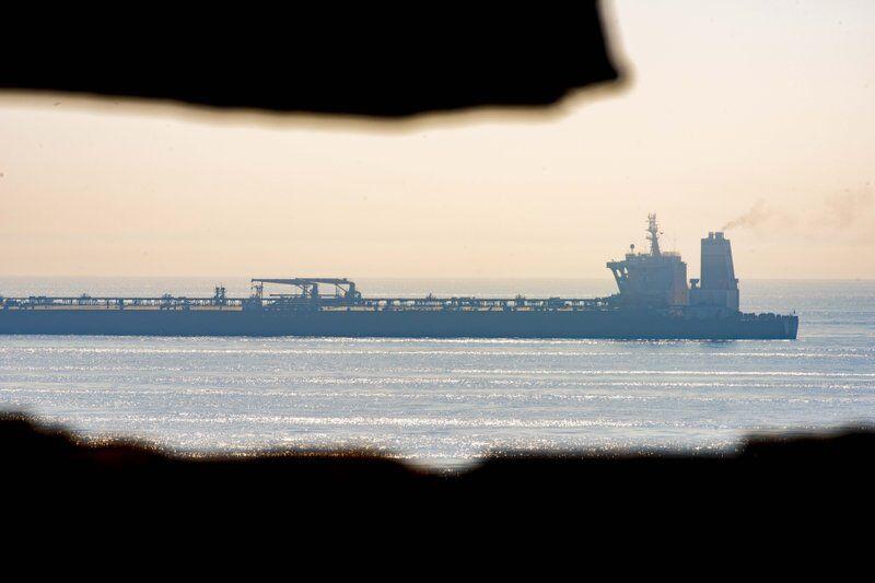 不顾美国施压 伊朗油轮将离开直布罗陀|直布罗陀|伊朗