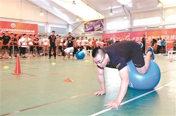 北京健身教练大比拼