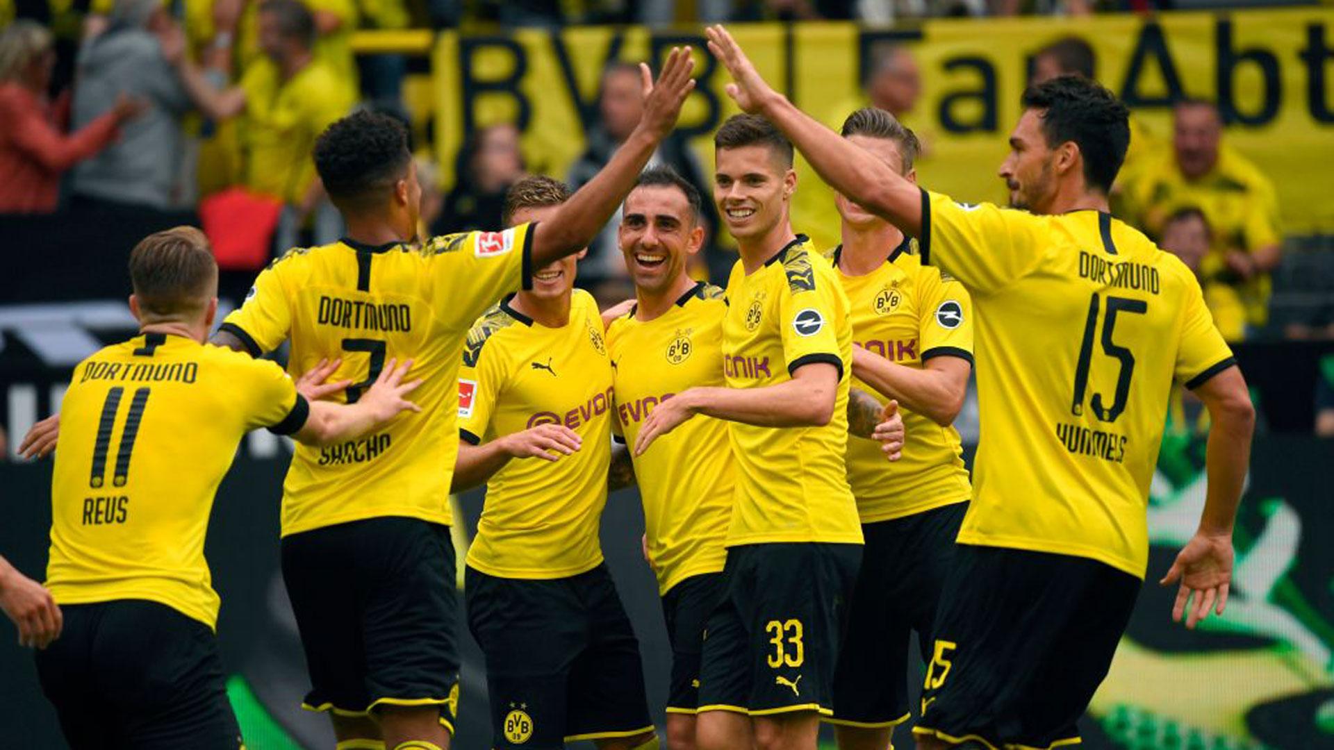 德甲首轮多特大胜 法夫尔对球队表示满意