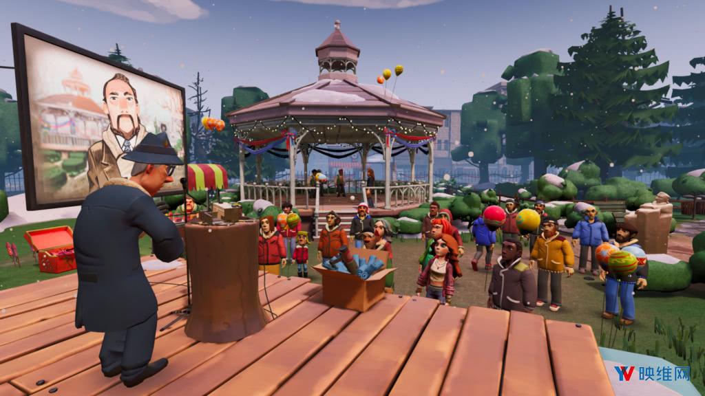 索尼发布《土拨鼠之日》游戏版,让粉丝在VR中继续土拨鼠日世界