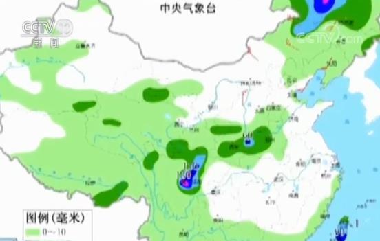 中央气象台 四川盆地和北方地区降雨持续