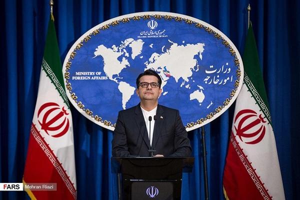 伊朗外交部发言人表示是否释放英国油轮需经过司法程序。(图:伊朗前线网)
