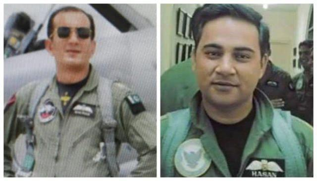 击落印军战机的两名巴基斯坦飞行员被授予荣誉勋章
