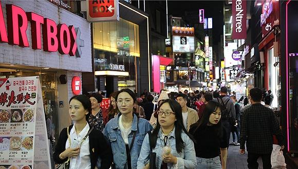 """""""赴韩游主力""""中国年轻女游客热情渐冷,越南人成后备力量"""