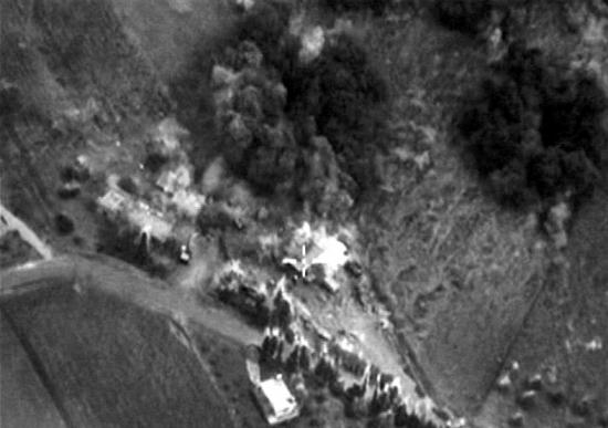 驻叙俄空军协同叙政府军 精确打击叙反政府武装营地
