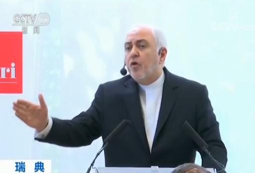 <b>鲁哈尼:美对伊朗制裁不利于地区安全|伊朗|扎里夫</b>