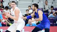 国际男篮超级争霸赛 塞尔维亚71-65意大利