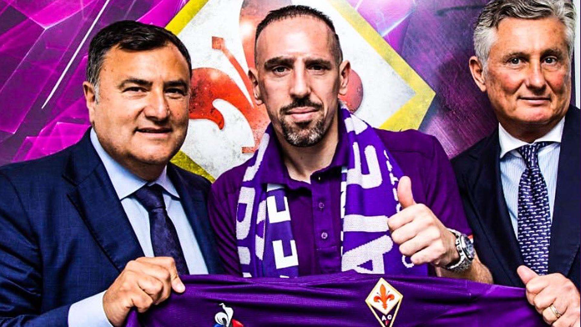 里贝里发挥余热 加盟紫百合佛罗伦萨