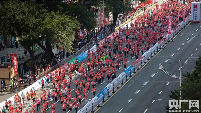 2019哈尔滨国际马拉松开赛