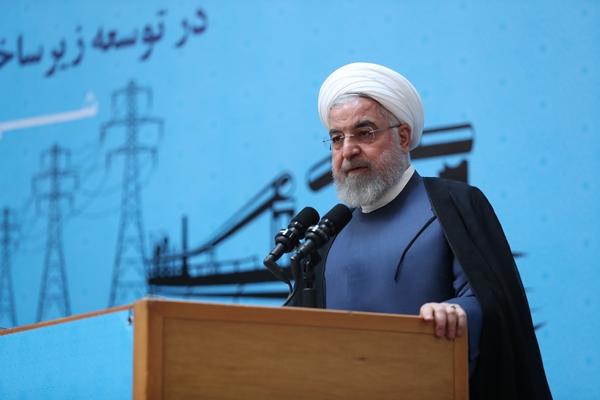 伊朗总统鲁哈僧。(图源:《伊朗火线》网站)