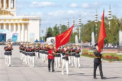 解放军军乐团莫斯科巡演