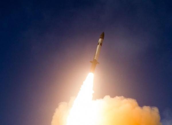 标准3 Blcok IIA 导弹发射升空