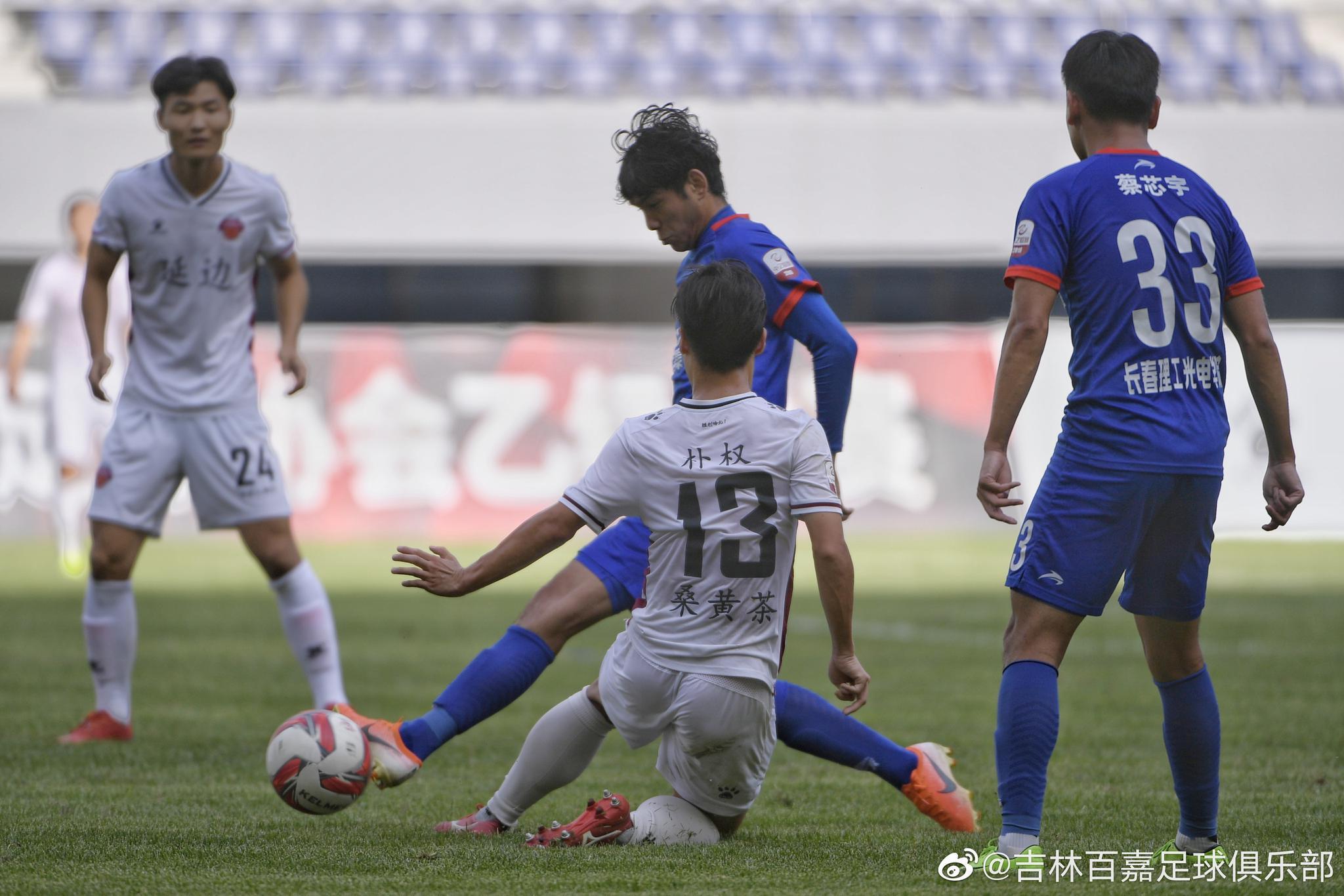 中乙补赛:买吾兰帽子戏法,吉林百嘉3-0延边北国