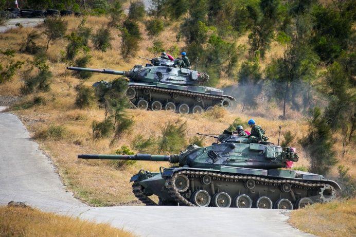 586旅的M60A3坦克 图源:交际媒体