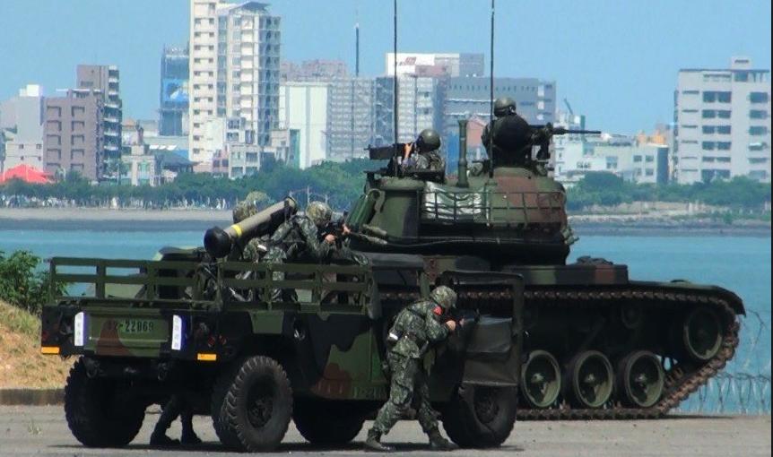 将来台军将常态化将步卒,反坦克导弹兵战拆甲兵体例正在一路构成联军营 图源:台军