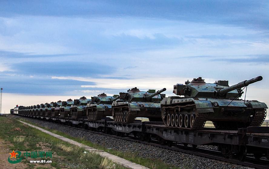 """将来以""""云豹战车""""战M1A2为主的""""联军营"""",将卖力匹敌我重型分解队伍 图源:中国军网"""