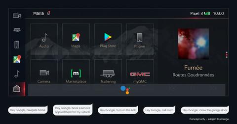 通用汽车合作谷歌 2021年将把谷歌应用/语音助手整合至汽车