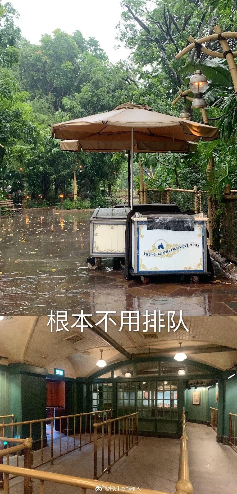 """旅客锐减240万香港迪士尼惨变""""无人乐园"""""""