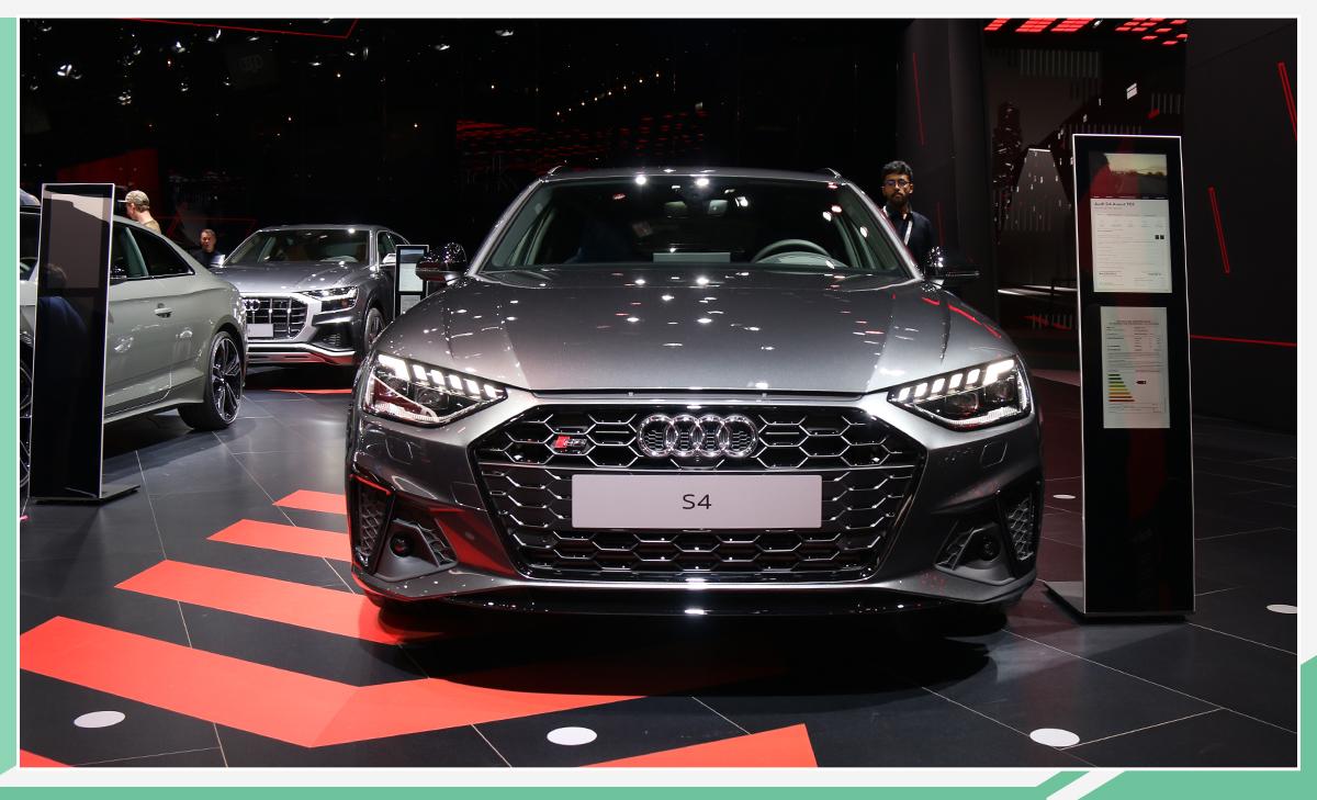 搭3.0T引擎/外观调整 新款奥迪S4 Avant亮相