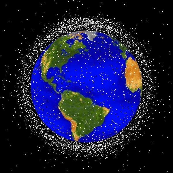 太空垃圾太多 日美将合作建立太空交通管制系统