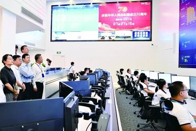杨杰调研北京移动新中国成立70周年庆祝活动保障工作