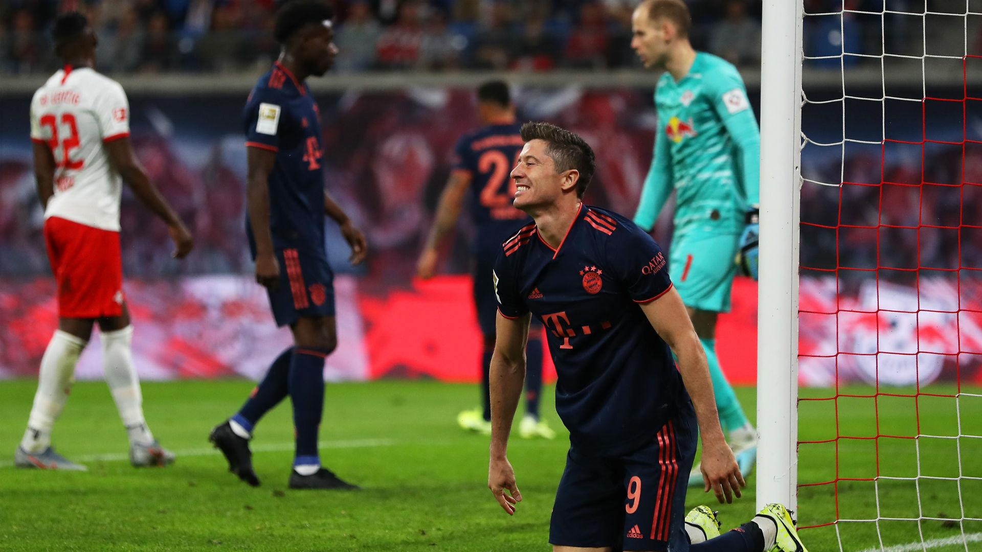 德甲榜首之争回顾:拜仁客平莱比锡